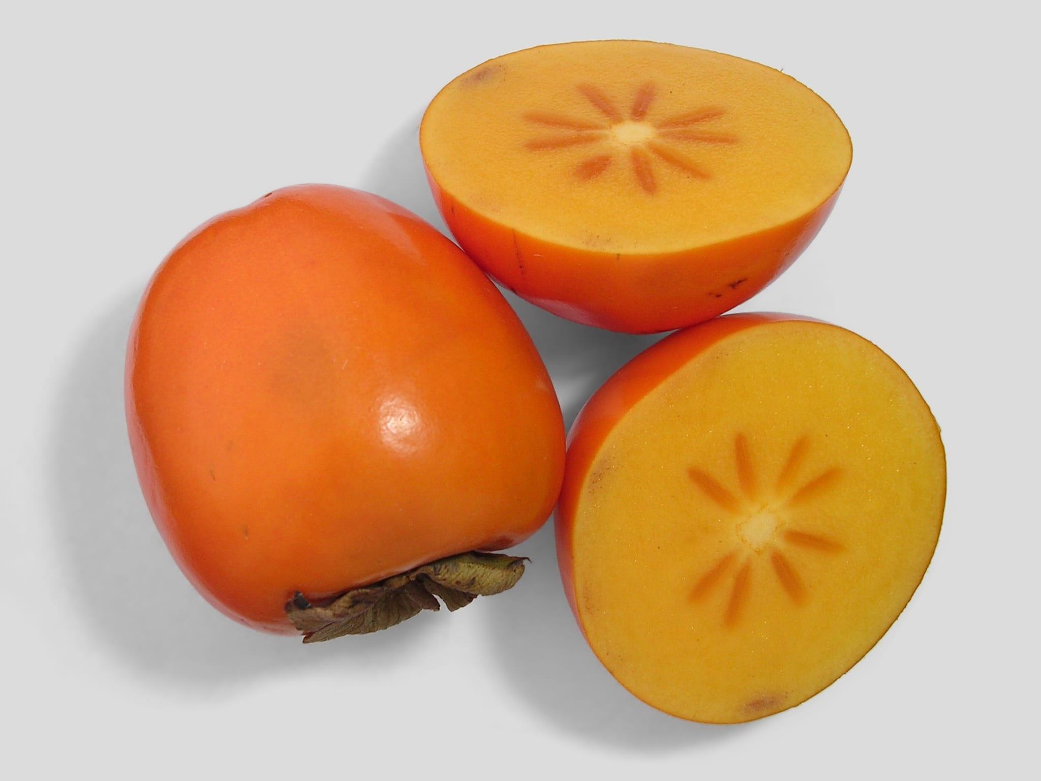 Caqui de la variedad persimmon