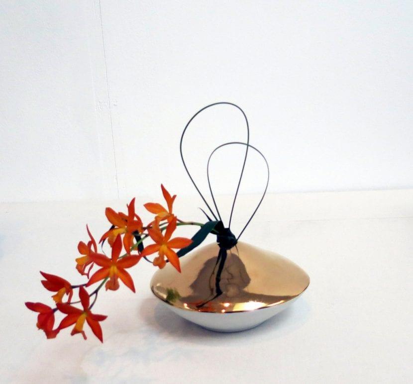 Un precioso y elegante ikebana