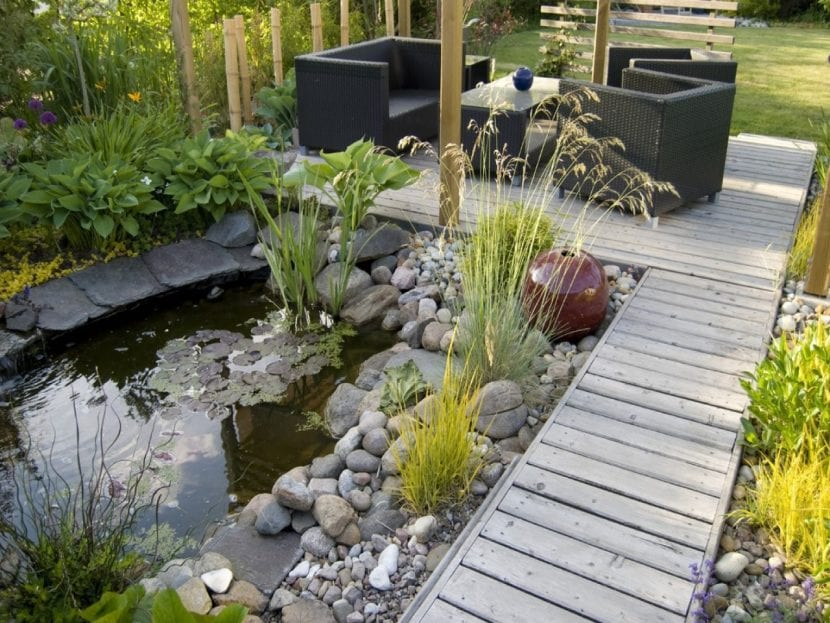 Idea para tener un jardín minimalista