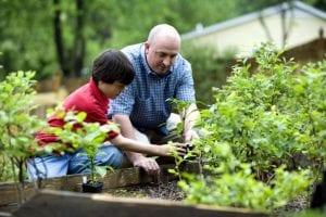 La jardinería la pueden disfrutar niños y mayores