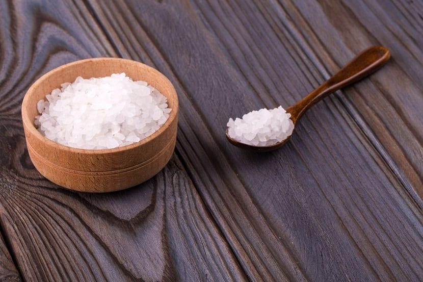 Utilizar sal de Epson o también sal de roca