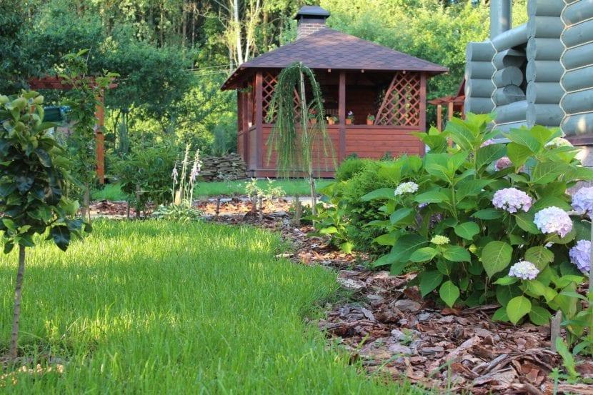 Jardín del estilo cottage inglés