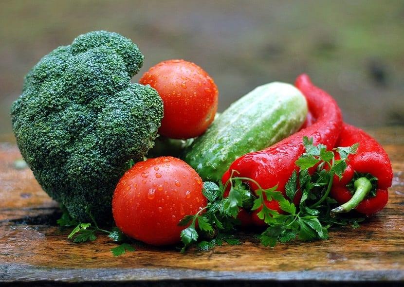 Conocer las verduras de ocasión