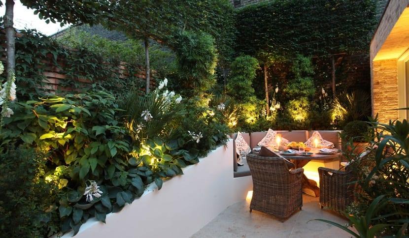 Definir los puntos más importantes del jardín