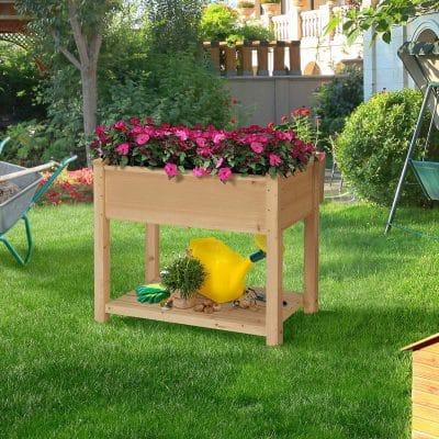 La mesa de cultivo permite tener plantas