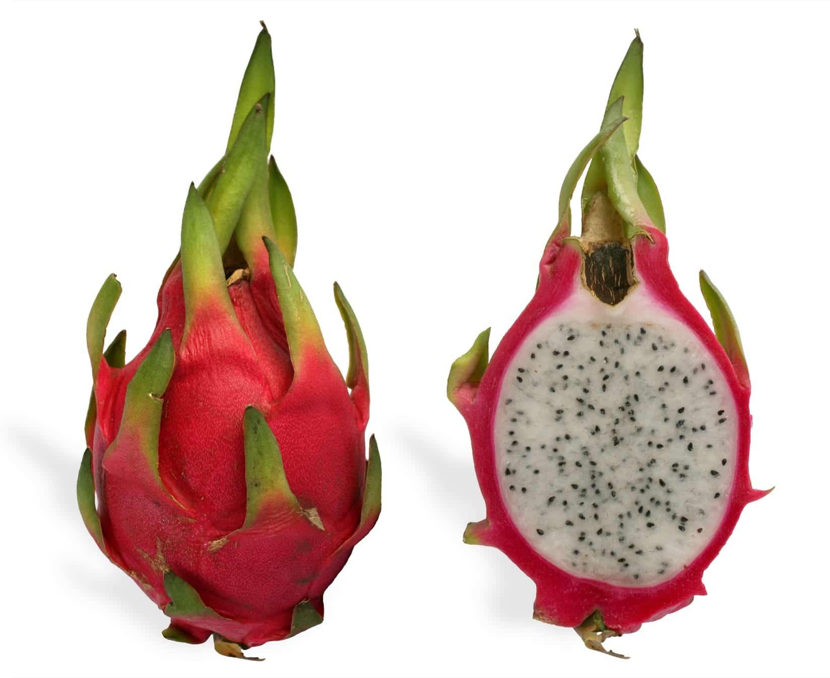 La pitahaya es un fruto comestible