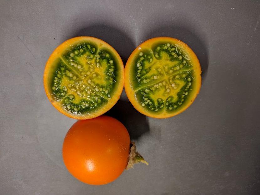Los frutos del lulo son similares a los tomates