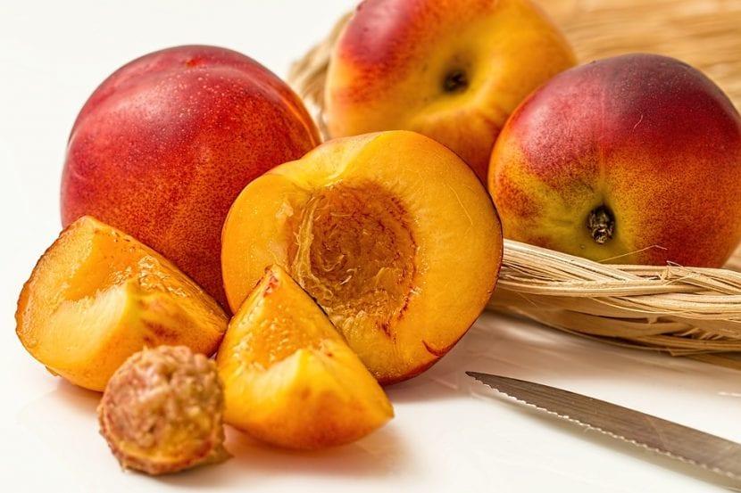 Las nectarinas son frutas dulces