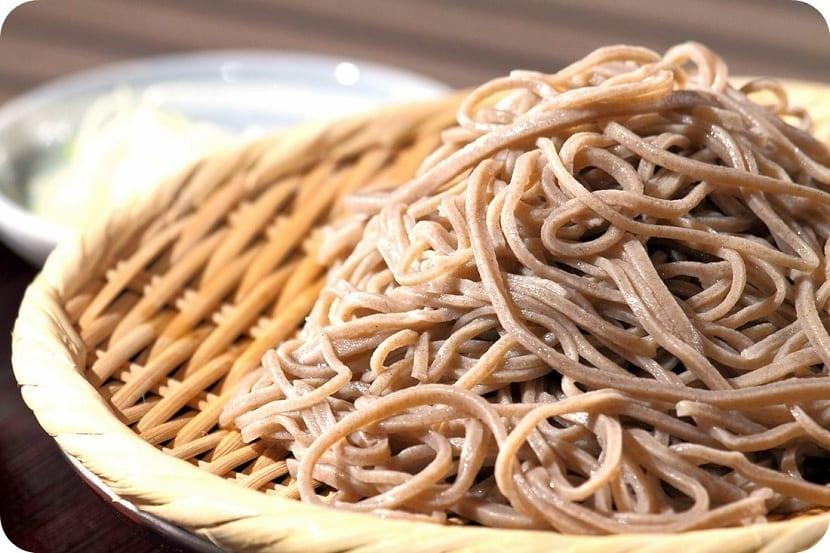 pasta de trigo sarraceno