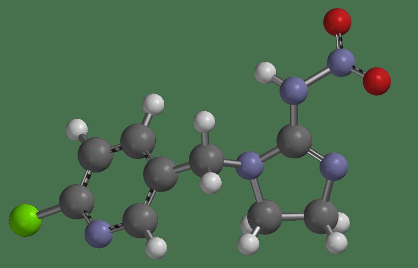 El imidacloprid es una sustancia insecticida muy interesante