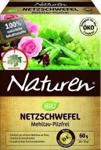 Fungicida ecológico con azufre