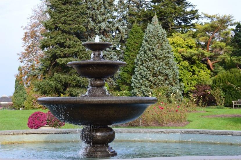 Las fuentes son unos elementos de jardín excepcionales