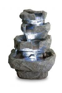 Magnífica fuente de imitación piedra para jardín