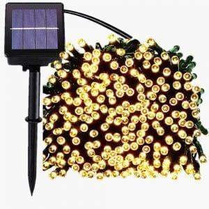 Luces solares para el jardín