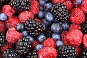 Los frutos del bosque los puedes cultivar en un jardín