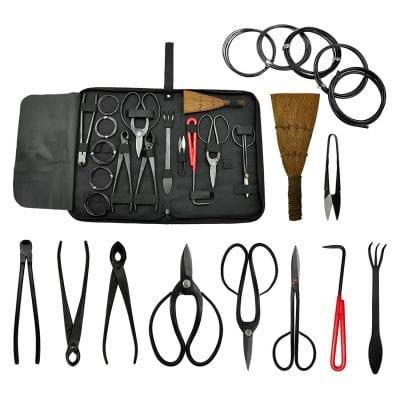 Kit de 10 herramientas de bonsai