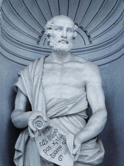 Estatua de Teofrasto