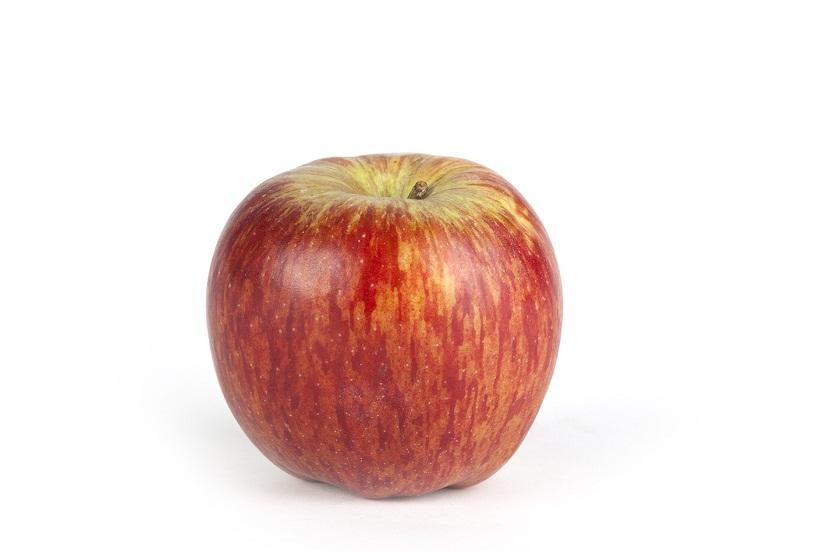 imagen de manzana redonda y perfecta