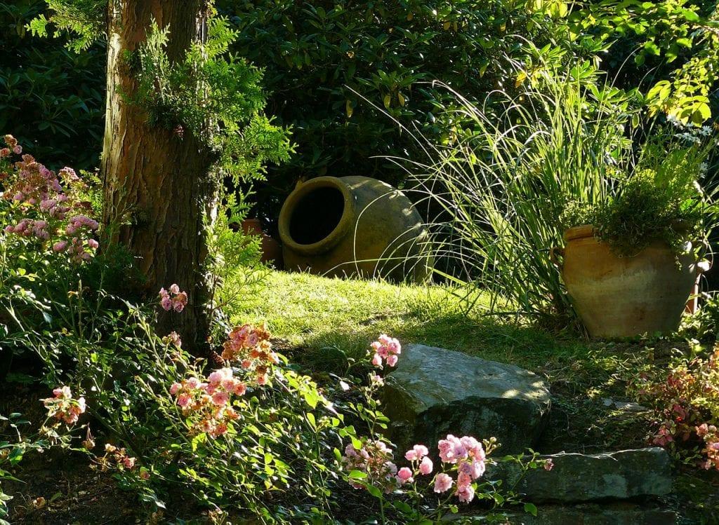 Un xerojardín es un jardín con poca agua
