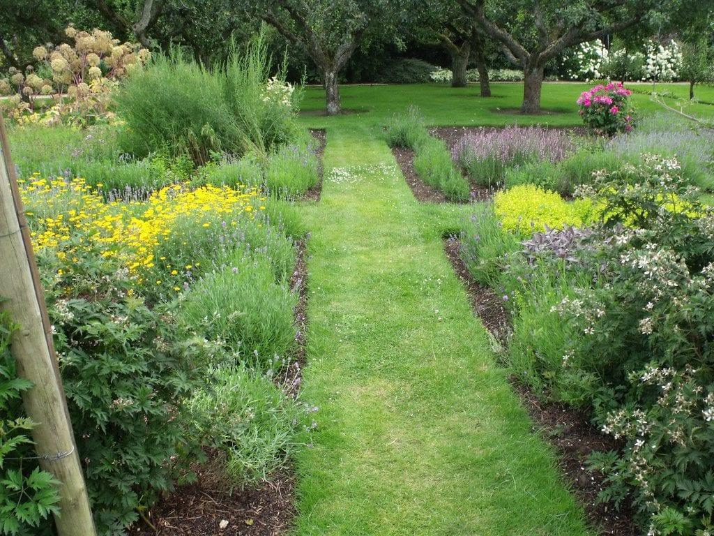Un jardín bien cuidado se ha de regar