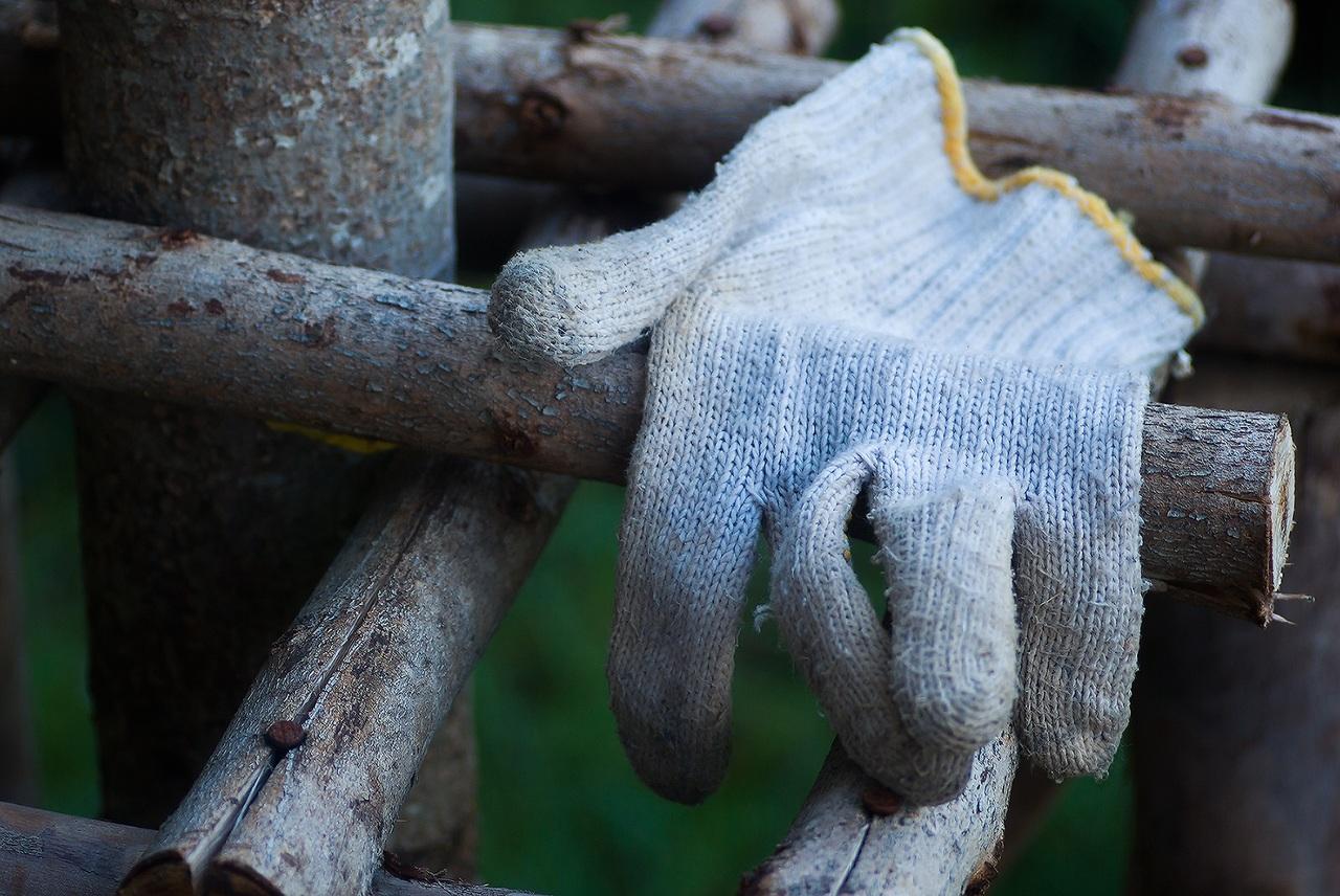 Los guantes de jardinería protegerán tus manos
