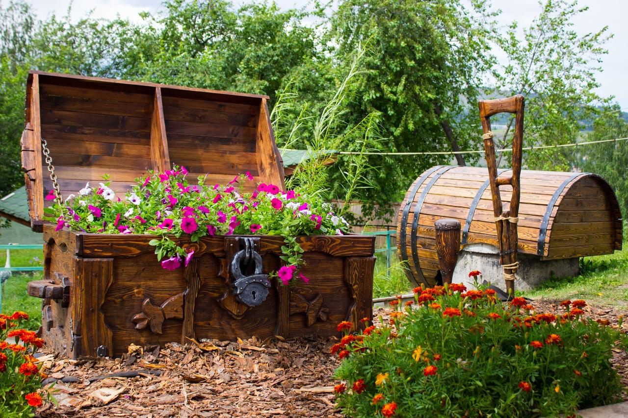 El jardín puede oler bien