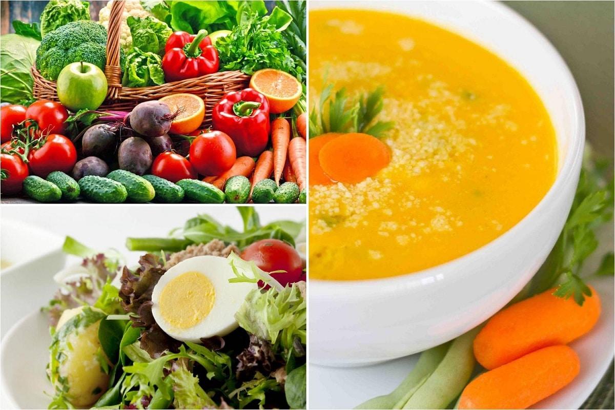 Tipos de verduras segun se cocinan