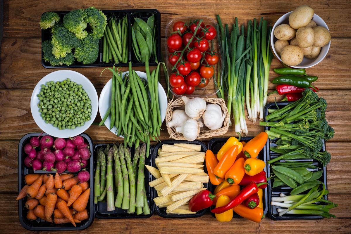 Tipos de verduras
