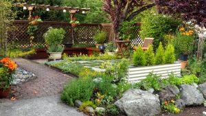 Protege tu jardín asegurándolo