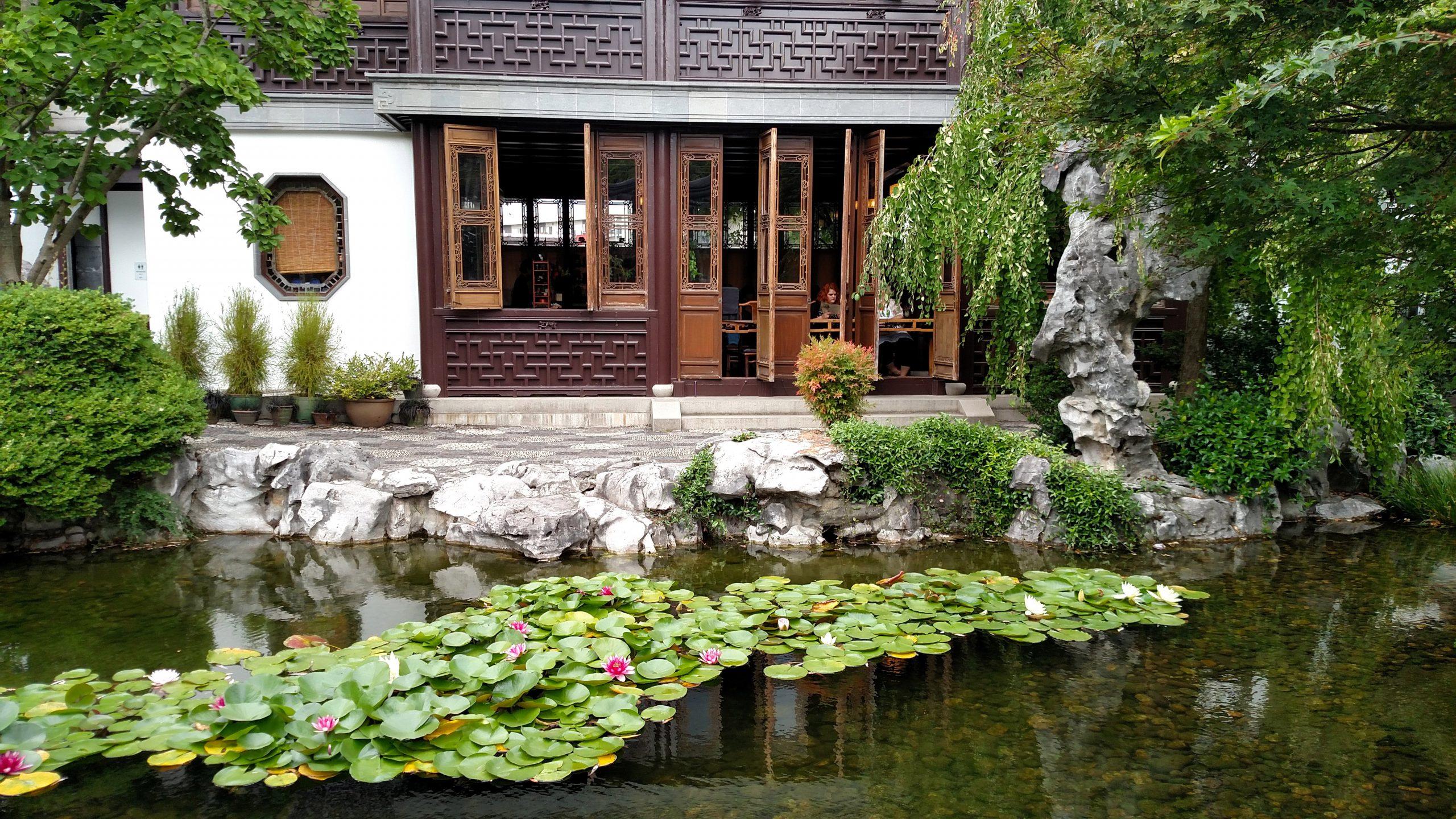 El jardín japonés es uno de los más bonitos