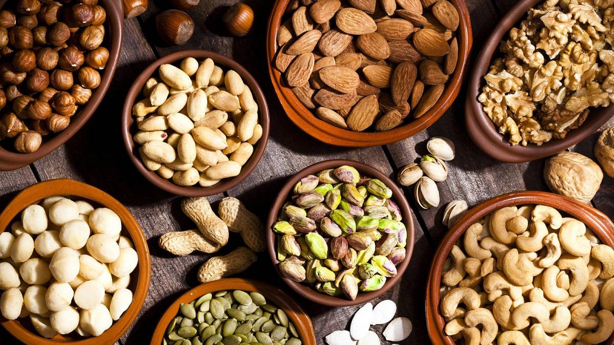 Tipos de frutos secos y salud
