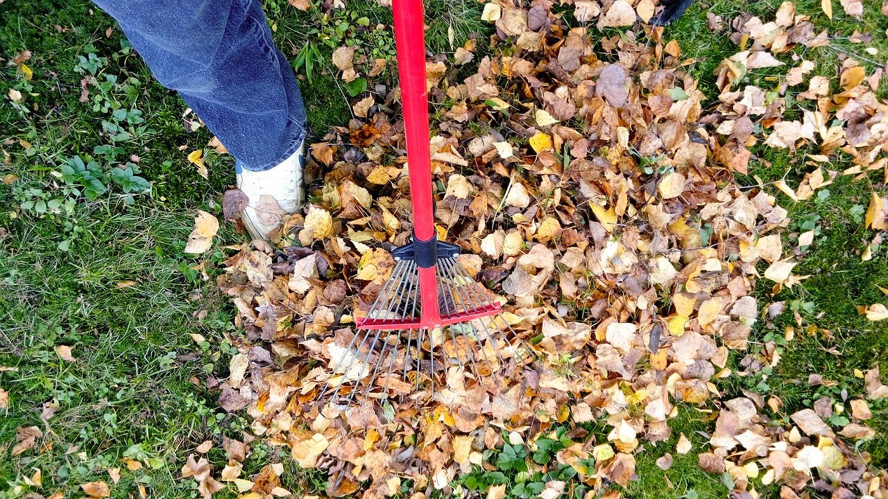 El rastrillo sirve para recoger hierbas o tierra