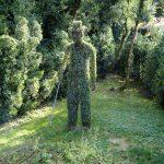 Puedes crear figuras humanas con tus topiarias