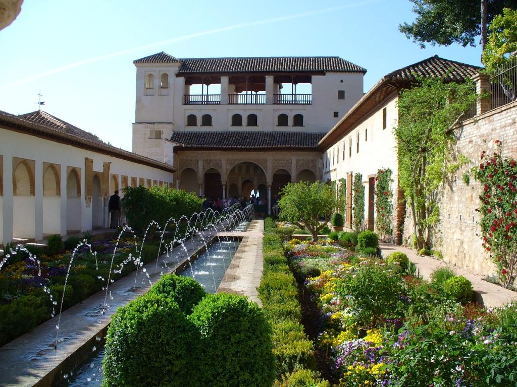 El jardín árabe es un estilo de jardín de bajo mantenimiento