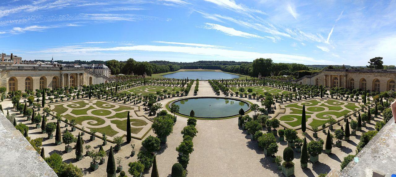 Los Jardines de Versalles están en Francia