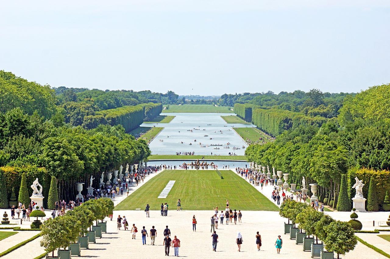 Los Jardines de Versalles son muy antiguos