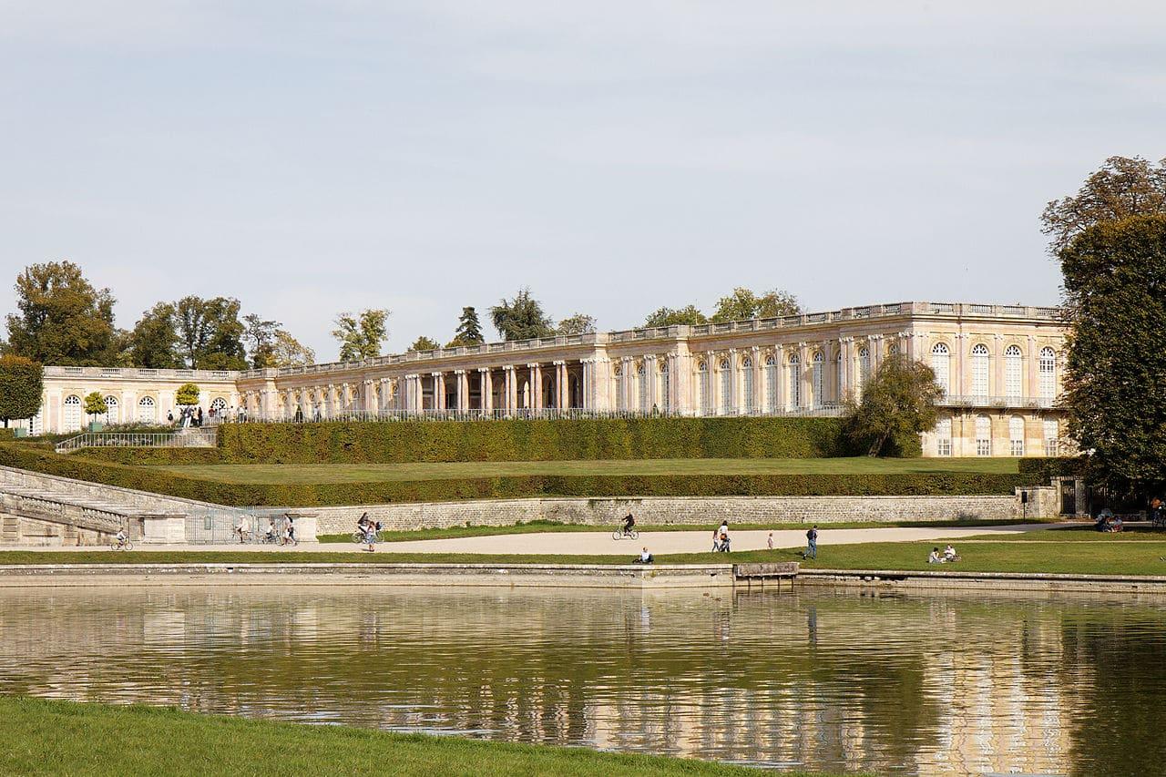 El Gran trianón forma parte de los Jardines de Versalles
