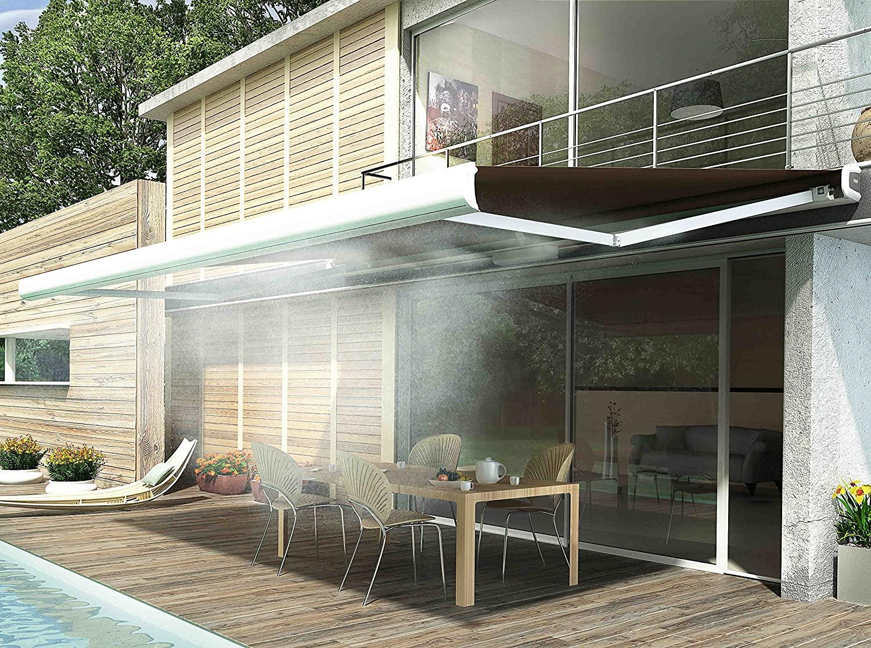 Poner un nebulizador en una terraza puede ser buena idea