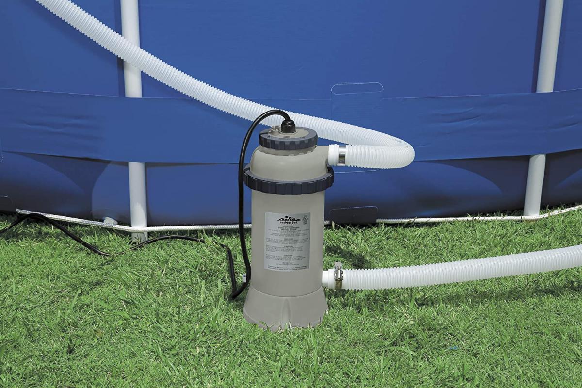 Calentador de agua para piscinas