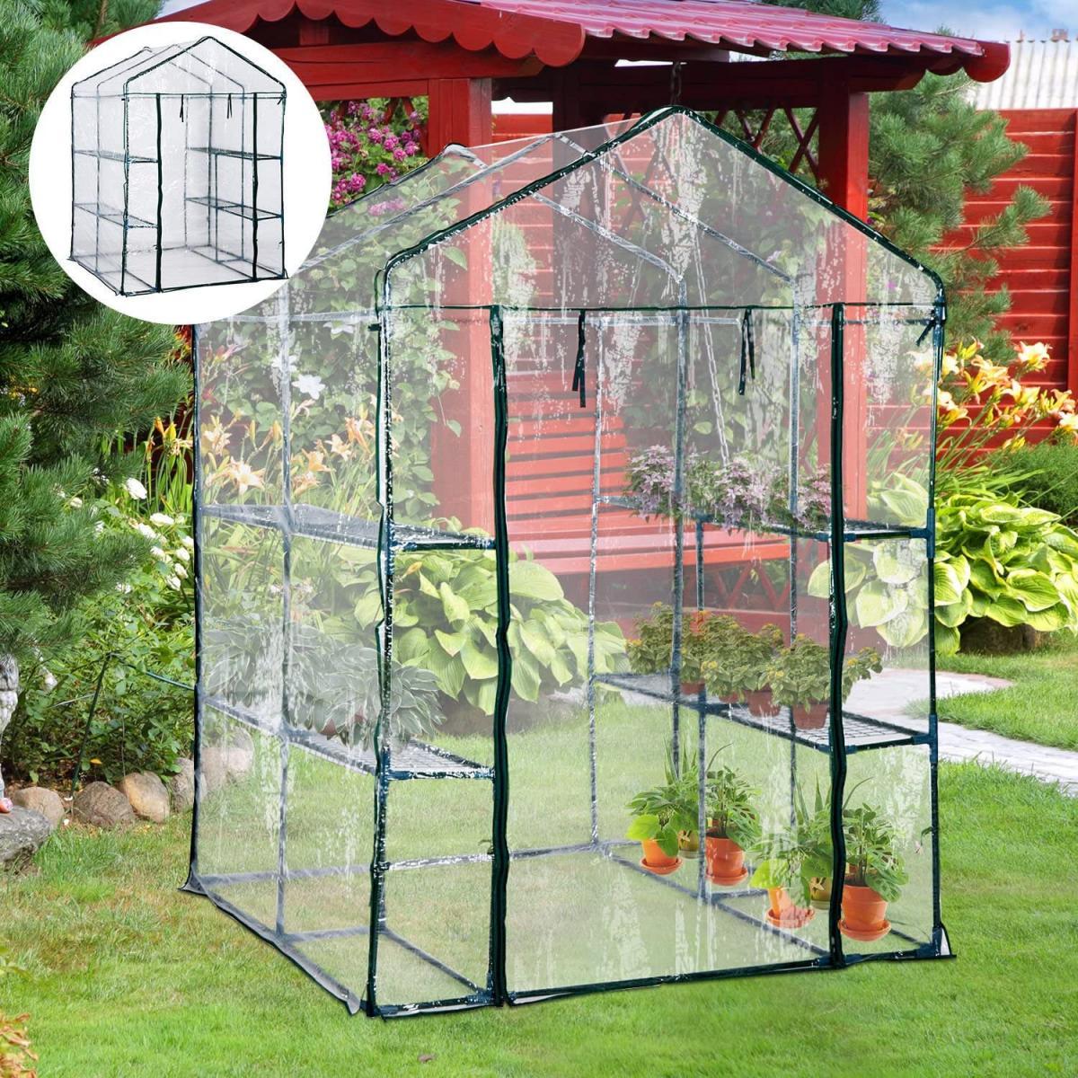 Protege tus plantas del frío en un invernadero