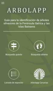 ArbolApp te ayuda a identificar árboles
