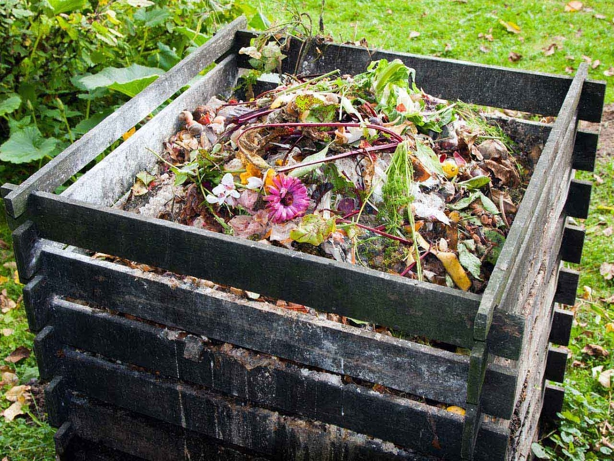 como hacer composta casera natural