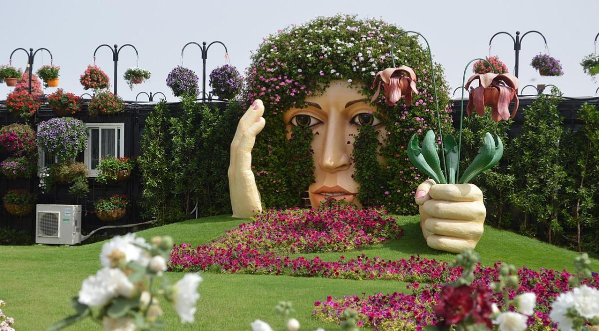 El Miracle Garden es un lugar único en el mundo