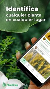 PlantSnap es una app muy interesante