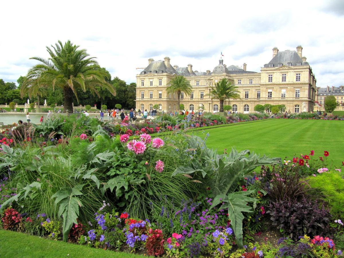 Las plantas de los jardines de Luxemburgo son variadas