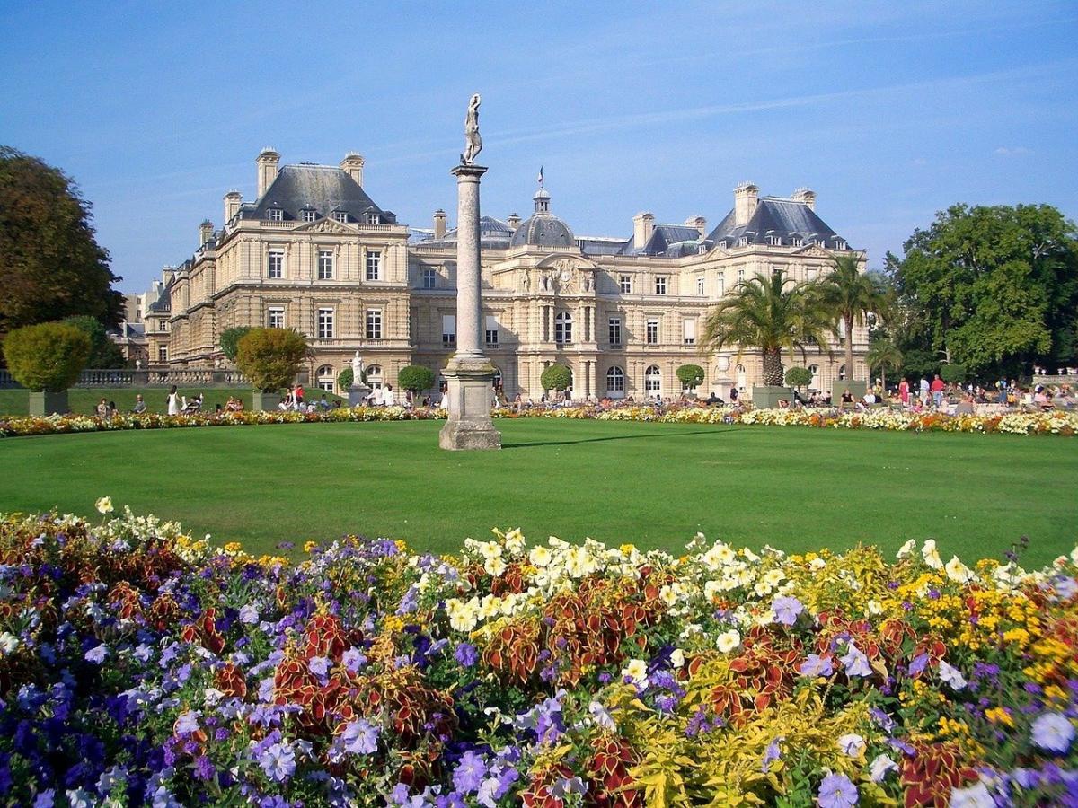 Los Jardines de Luxemburgo son los más bonitos de París