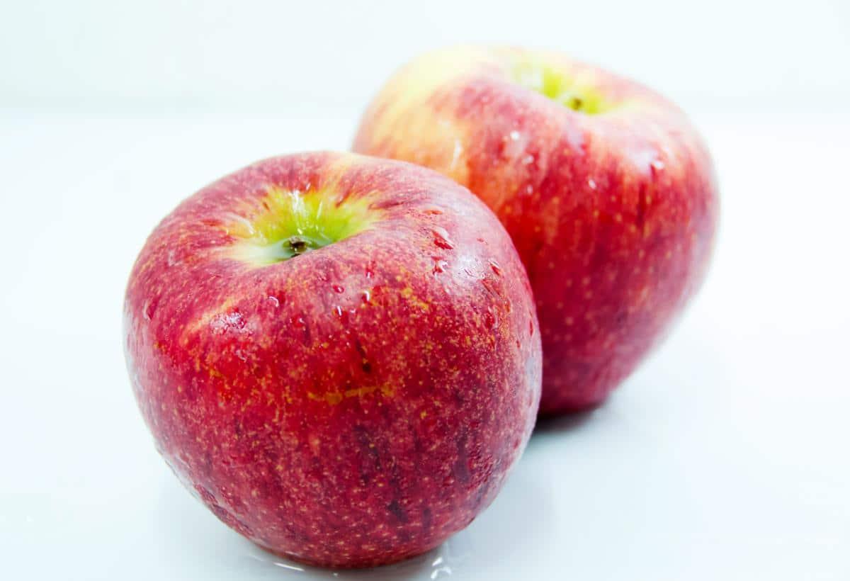 Las manzanas son frutos carnosos