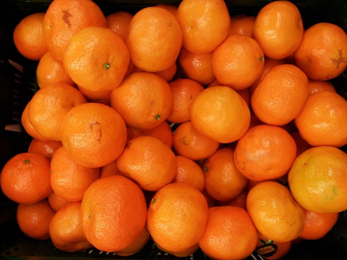 Las clemenules son una variedad de mandarina