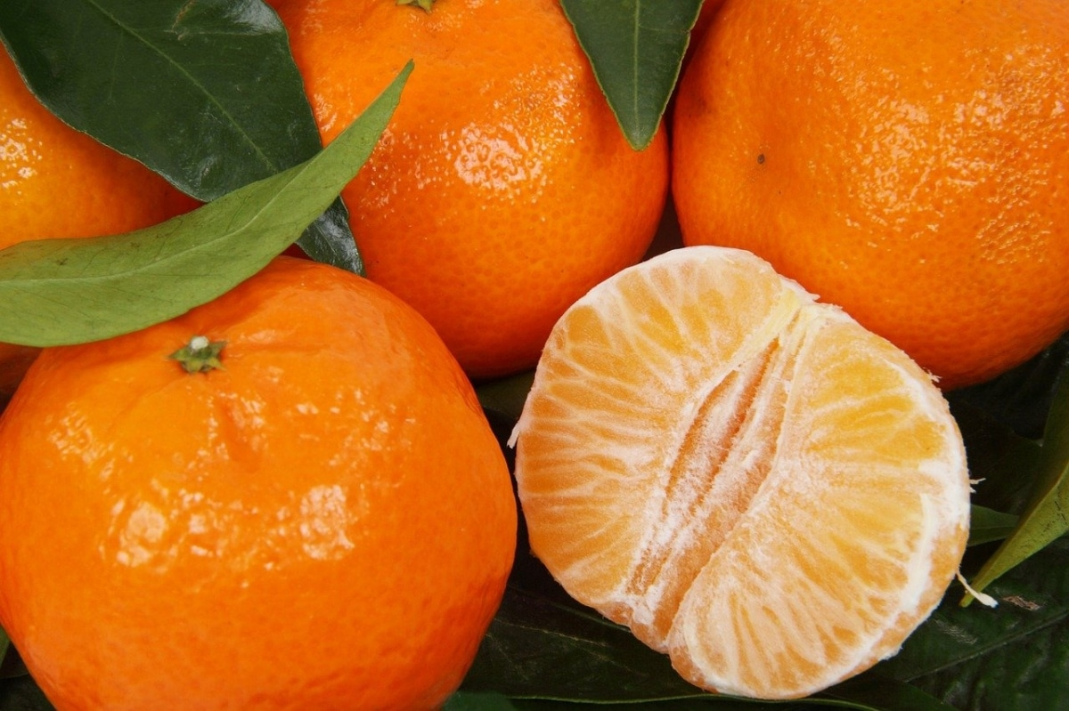 Las clemenules son de color naranja