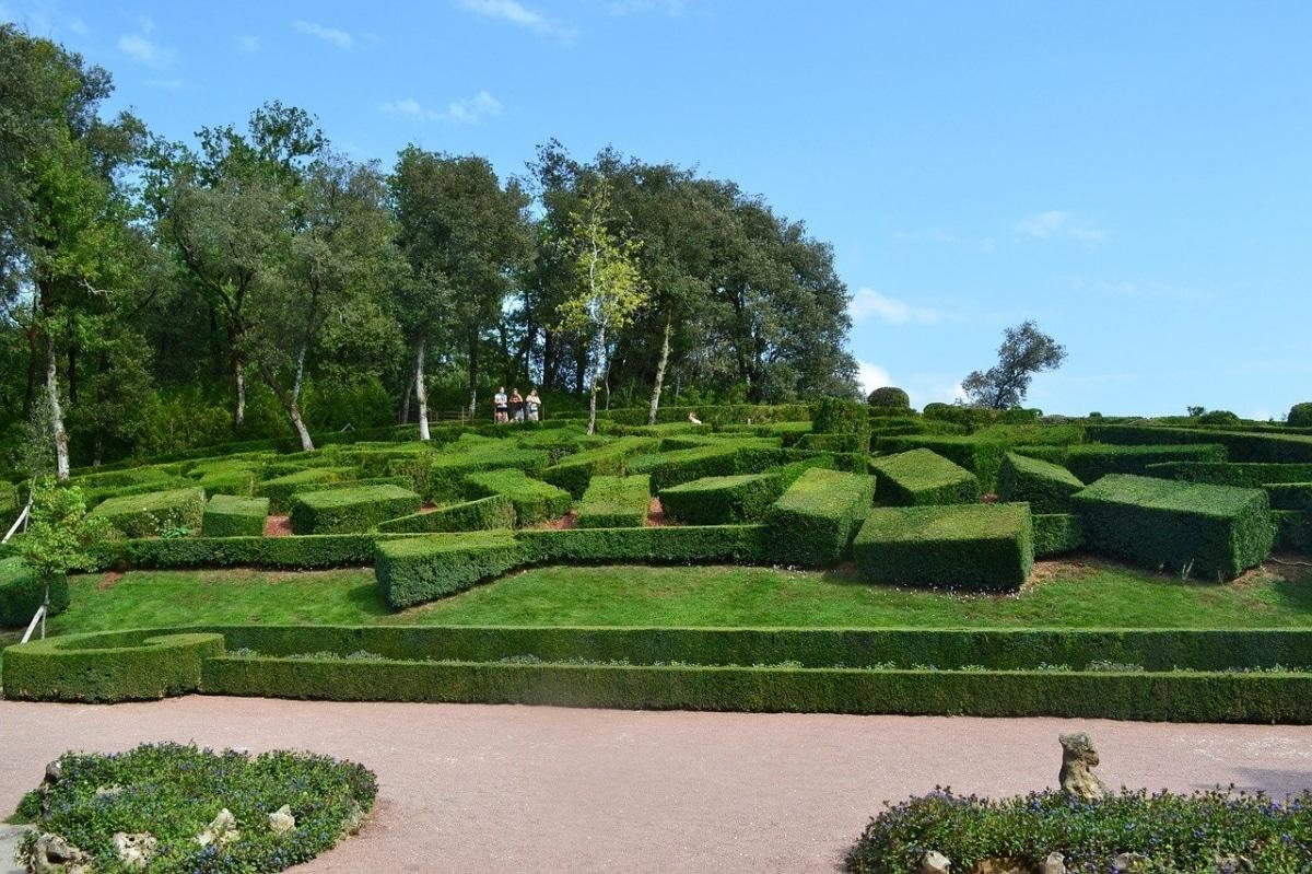 Los Jardines de Marqueyssac tiene miles de boj
